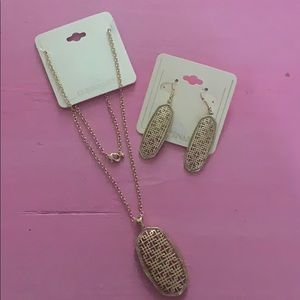 RS Covenant necklace and earrings set